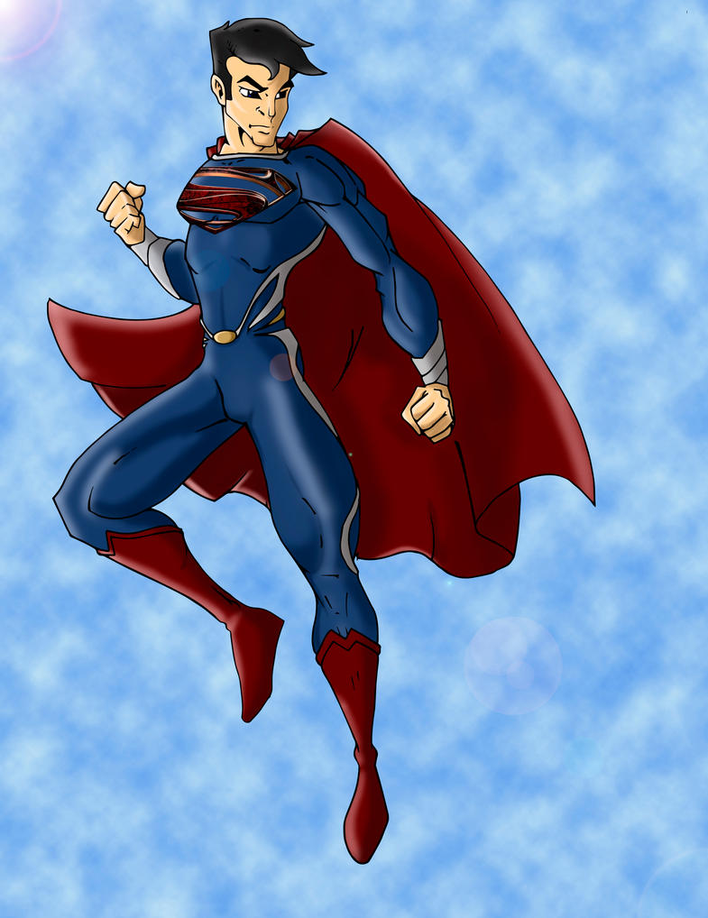 Superman Man of Steel by MrToon2000