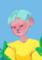 portrait by Gimgi