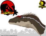 InGen Files - Jurassic Park III Male Raptor