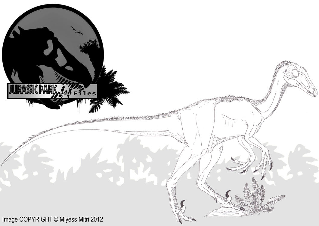 Ingen files troodon by miyess on deviantart for Troodon coloring page