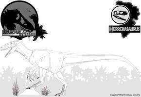 InGen Files - Herrerasaurus by Miyess