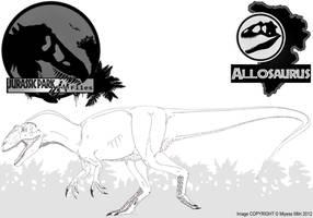 InGen Files - Allosaurus by Miyess
