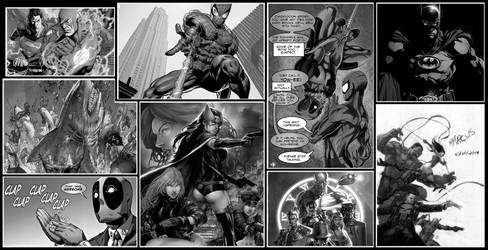 Comic Wallpaper by Dartcrow