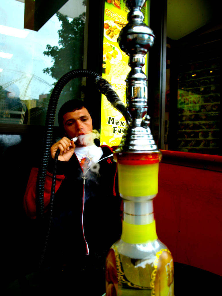 how to work a shisha pipe
