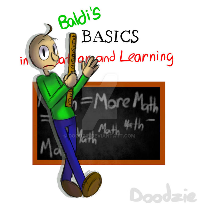 baldi s basics by doodzie on deviantart