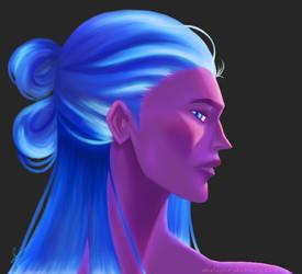 Purple And Blue Palette