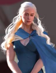 Daenerys Targaryen by ElenaStripe