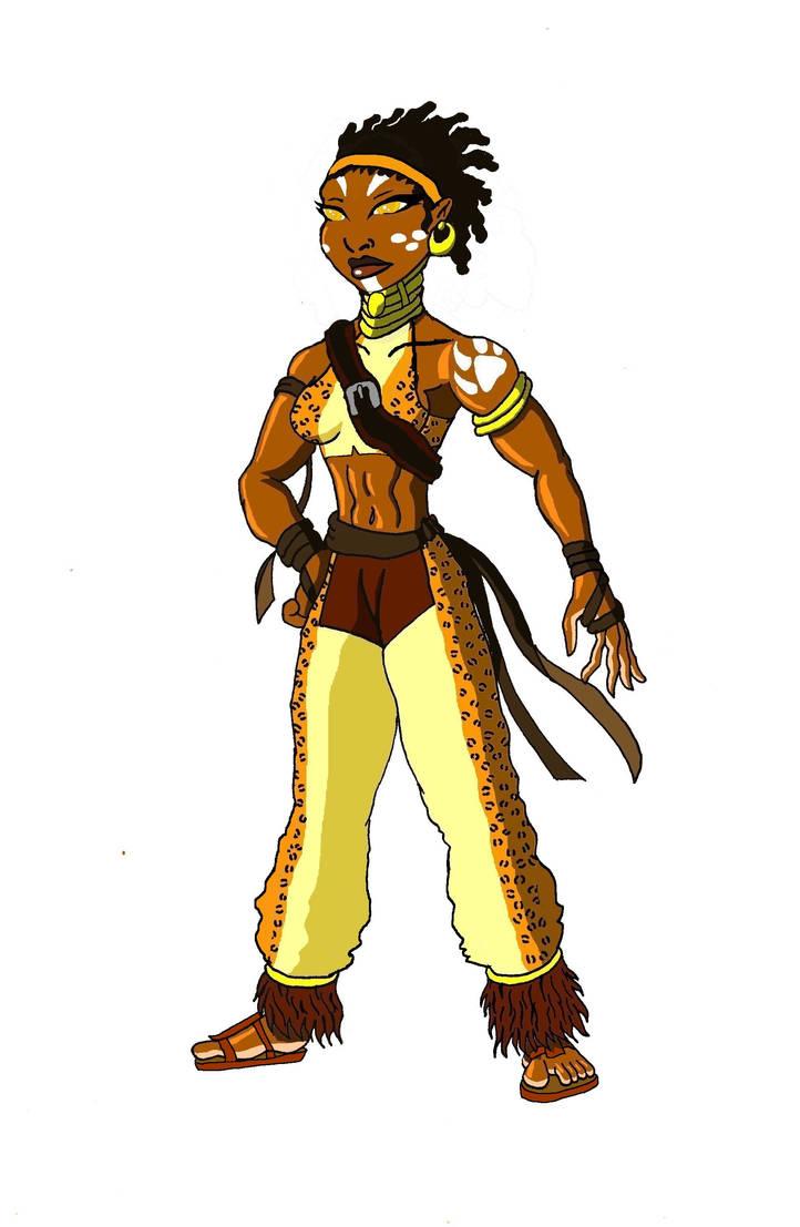 Leopard Girl Masozi's bio by JonKin