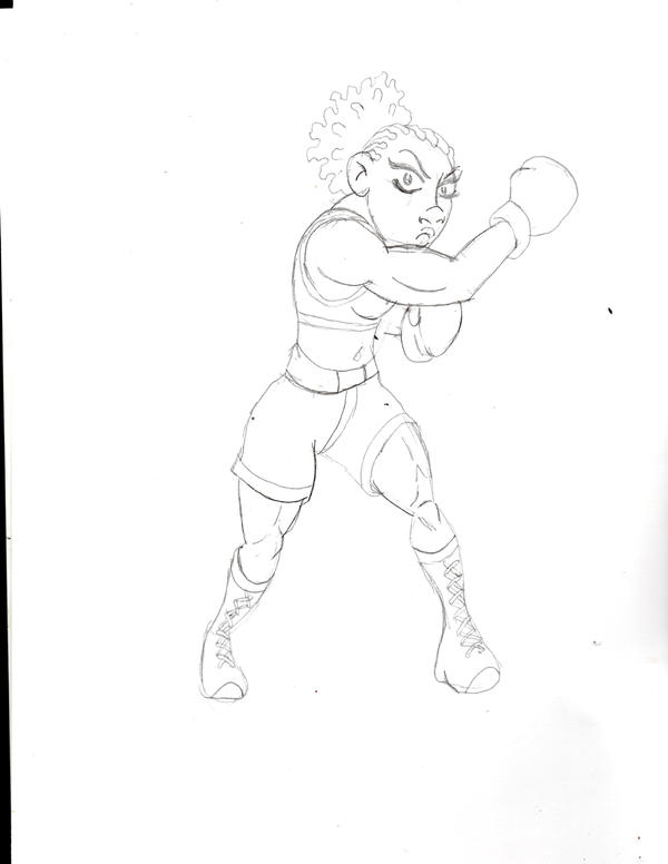 The boxer by JonKin