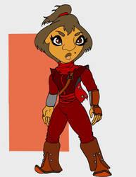 Scarlet Guard by JonKin