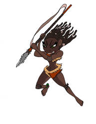 Spear Deathstrike by JonKin