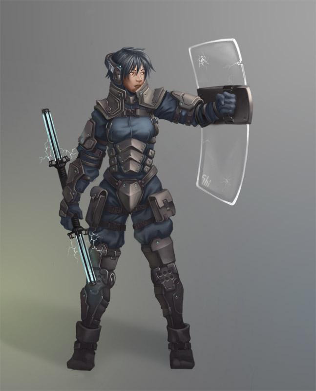 Cop by Shinobik