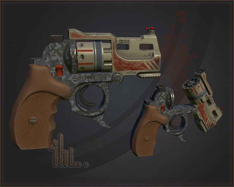 Revolver by Shinobik