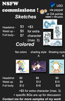 Commissions Info! by shameboxme