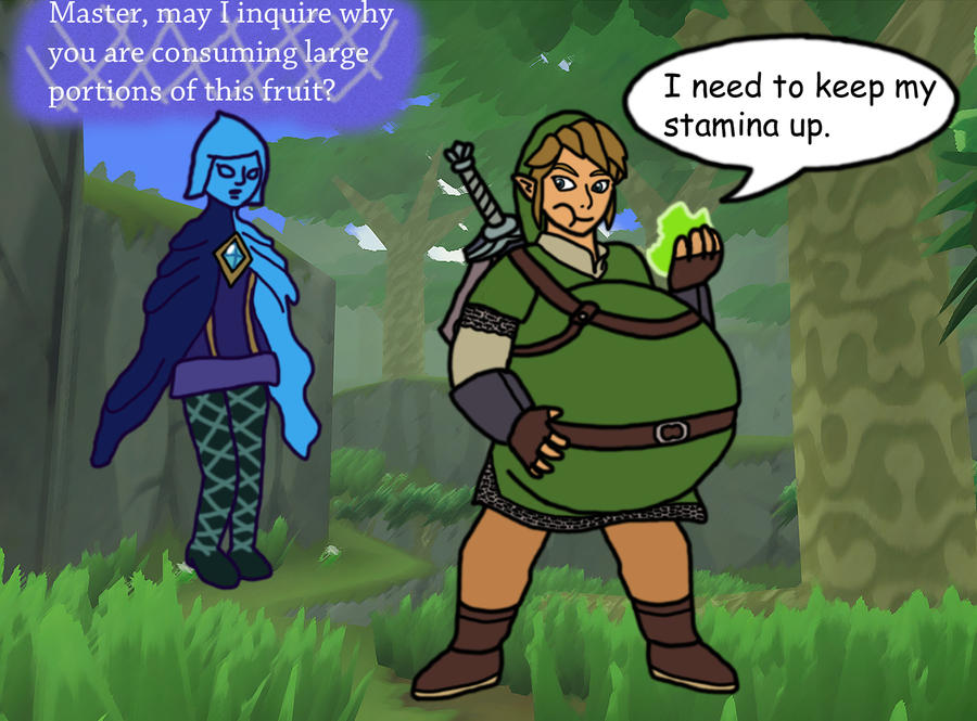 Skyward Sword Link Stamina Fruit WG By Mothman64