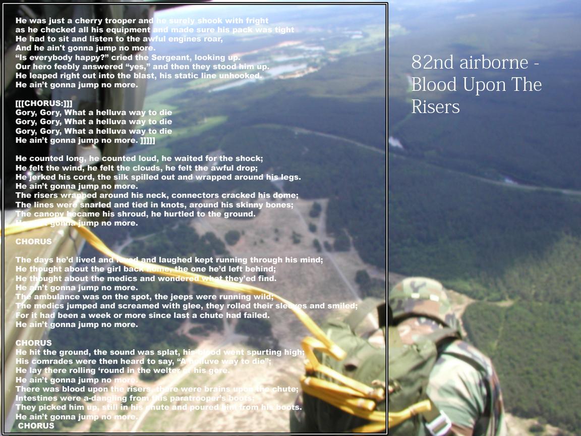 82nd airborne song by Waichi on DeviantArt