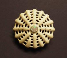 radial bone brooch by morpho2012
