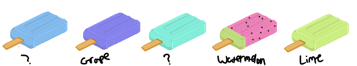 Pixel Study: Indented Popsicles by sunflora263