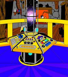 TARDIS Interior... by AngelGhidorah
