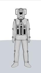 Kroton the Cyberman... by AngelGhidorah