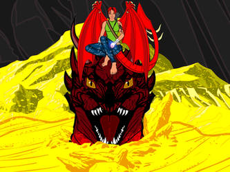 Who's King under the Mountain now, Smaug?