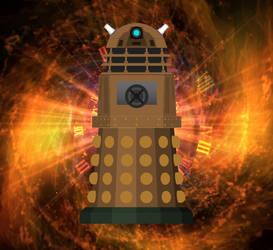 Temporal Weapons Dalek... by AngelGhidorah