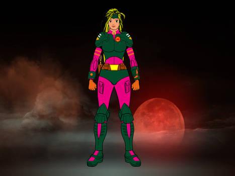 Lieutenant Nara Burns...
