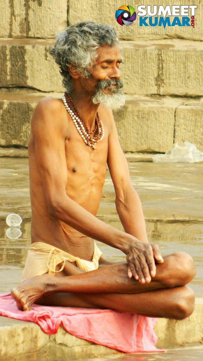 The Saadhu at Varanasi