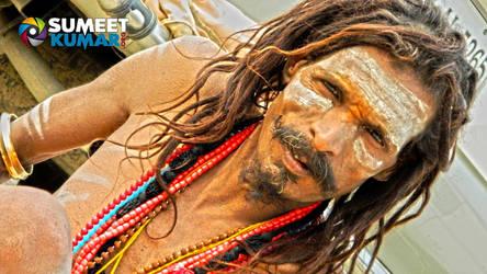 Naga Sadhu at Kumbh Mela 2013