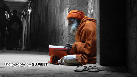 The Sadhu in Alley