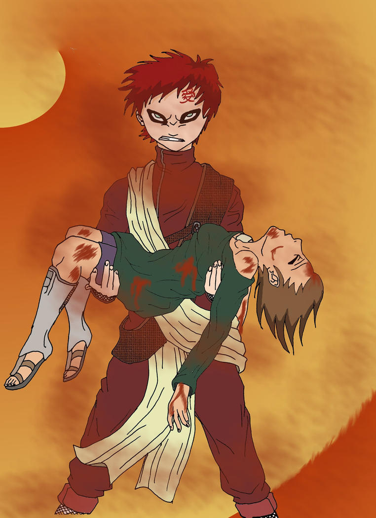 Gaara And Matsuri Kiss