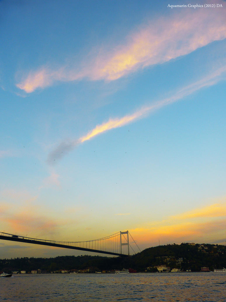 Fatih Bridge by Aquamarin-Graphics