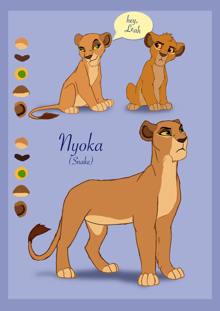 Nyoka TC-96 Design Contest (now owned by HAYALES) by Happy-Me-Beast