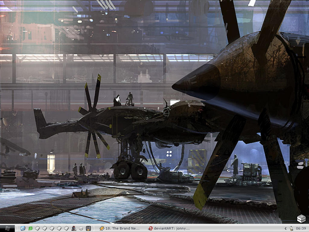 Craig Mullins Desk 05 by Bakero