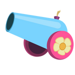 Party Cannon Vector