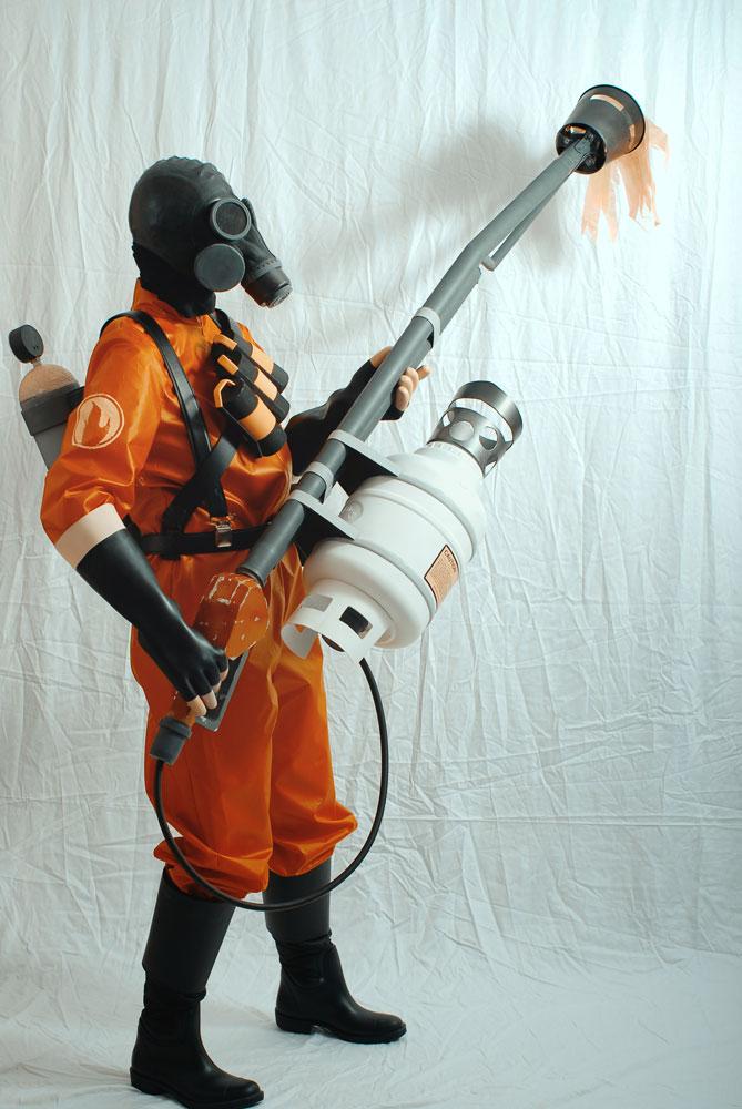 Pyro Tf2 Cosplay TF2 Pyro cosplay tease...