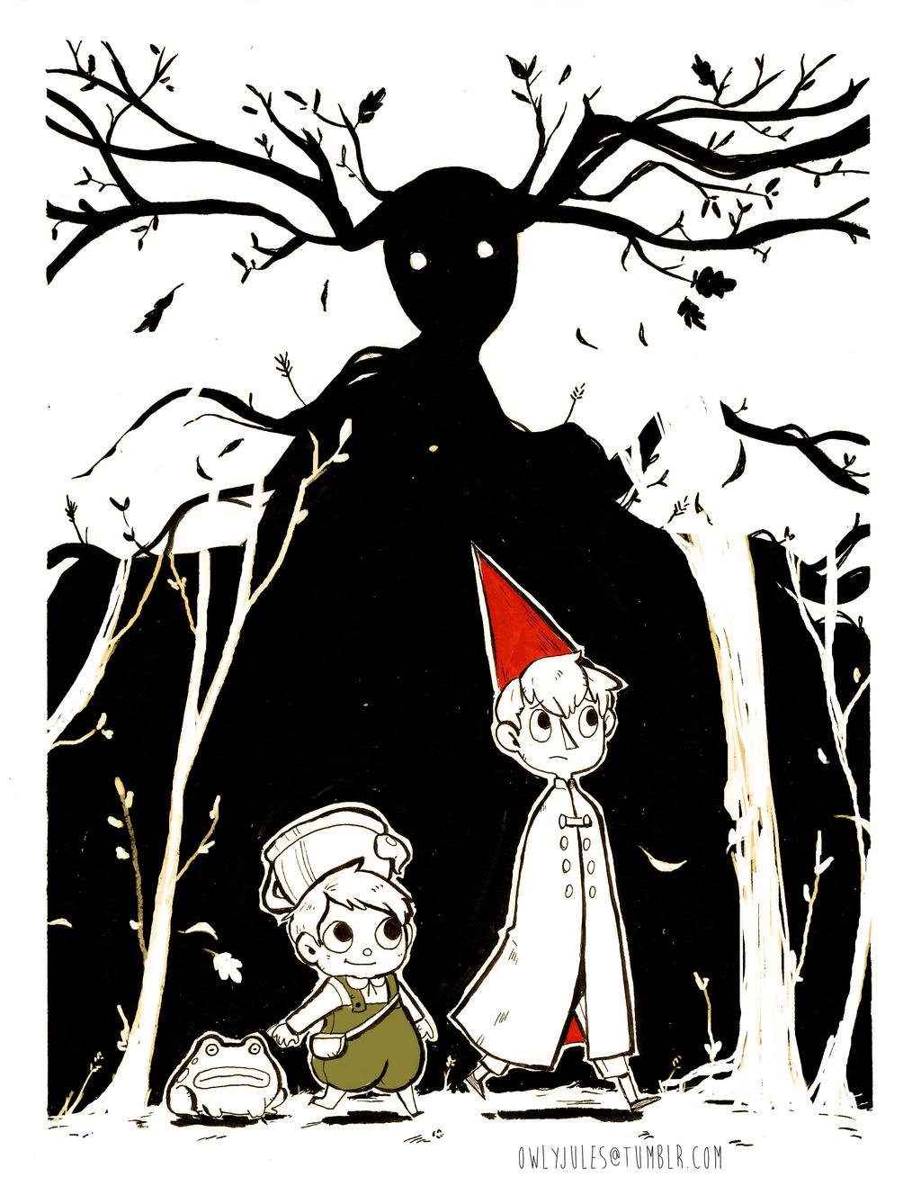 Over The Garden Wall By Owlyjules On Deviantart