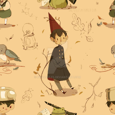 Over The Garden Wall Pattern By Owlyjules On Deviantart