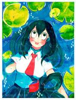 BNHA: Tsuyu Asui