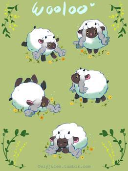 pokemon - Fluffy wooloo!:D
