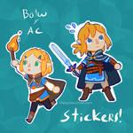 BOTW X AC - Stickers