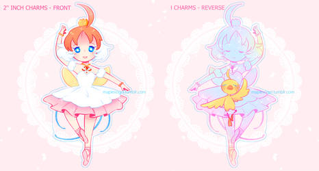 Princess tutu - Charms