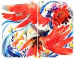 Mindless doodles - Harpy