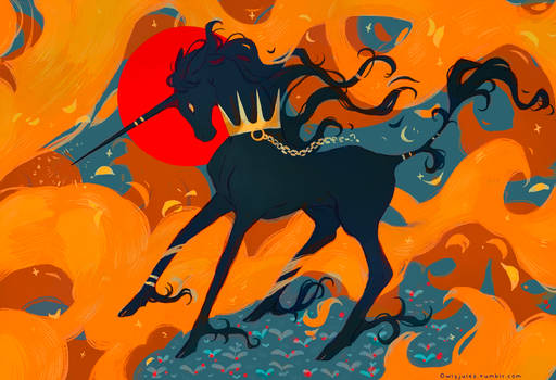 Unicorn and Fire