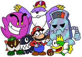 Paper Mario : The Beta Dudes by Fawful92