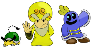 Mario Collab - Dojo Dudes by Fawful92
