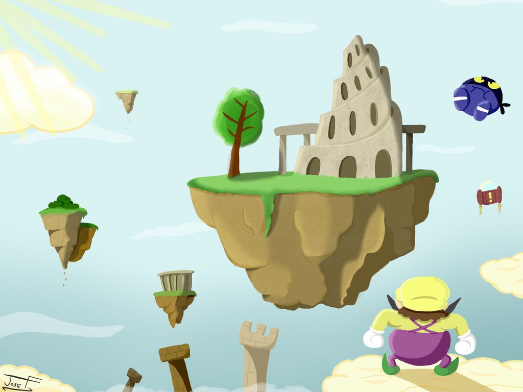 Airytale Castle by Fawful92