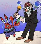 Eugene Krabs VS Stan Pines!