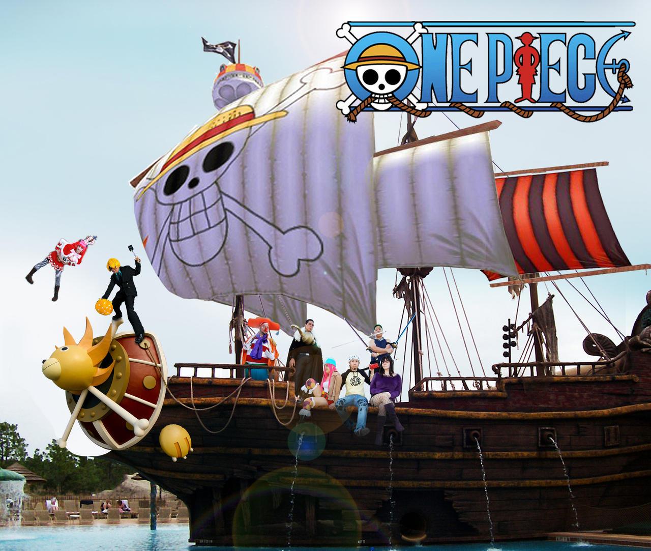 One Piece Ship by TewiBewi on DeviantArt