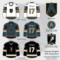 Atlanta Knights AHL concept by willb892